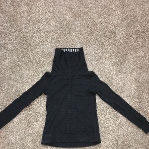 Lululemon reversible turtle neck sweatshirt